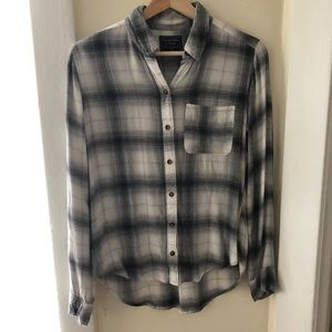 A&F Flannel Shirt size x-small
